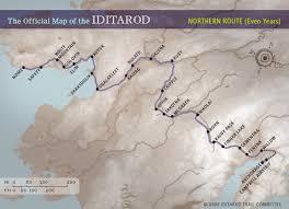 Race Map – Iditarod