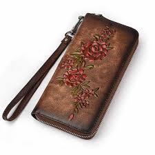 <b>Dreamlizer</b> RFID Blocking Zipper Around Women <b>Leather</b> Wallet ...