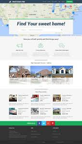 real estate classifieds premium responsive joomla template optimised for desktop
