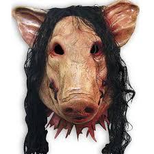 Retail <b>1pcs</b> Halloween Costume Party Mask <b>Scary Pig</b> Full <b>Head</b> ...
