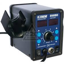 <b>Паяльная станция Element 898BD</b> - цена, фото и инструкция ...