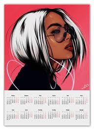 "Календарь А2 ""Music dream"" #2508806 от Sam Nolak - <b>Printio</b>"