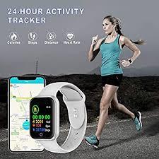 <b>Smart Watch</b>, <b>1.4 inch</b> Fitness Tracker Waterproof IP68 Sport Watch ...