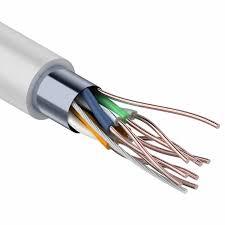 <b>Кабель FTP</b> 4PR 24AWG <b>CAT5e</b> Proconnect 25 м купить по цене ...