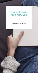 best ideas about career goals resume skills how to prepare for a new job after the offer