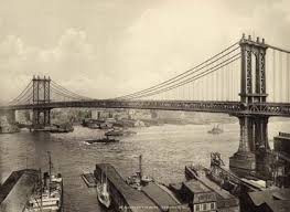 「Manhattan Bridge completed」の画像検索結果