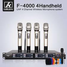 <b>Wireless Microphone</b> System 8000GT Professional UHF <b>Channel</b> ...