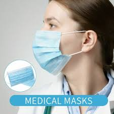 INSTOCK <b>50 Pcs 3 Layer</b> Disposable Protective <b>Face</b> Mouth <b>Masks</b> ...