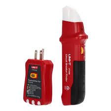 <b>UNI</b>-<b>T UT25B</b> UT25A/B <b>Automatic</b> Circuit Breaker Finder Socket ...
