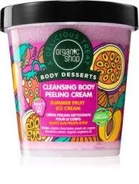 Organic Shop <b>Body</b> Desserts Summer Fruit Ice <b>Cream очищающий</b> ...
