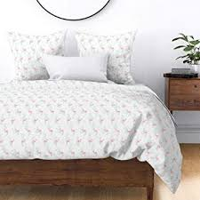 Roostery Flamingo Duvet Cover Pink Bigger Scale ... - Amazon.com