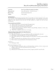 housekeeping job description resume objective for housekeeping job description resume objective for housekeeping resume housekeeping responsibilities image