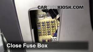 interior fuse box location toyota highlander  interior fuse box location 2001 2007 toyota highlander 2001 toyota highlander 3 0l v6