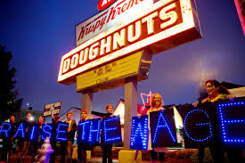 photos top images from around the world com fast food workers and supporters protest low wages outside a krispy kreme store thursday