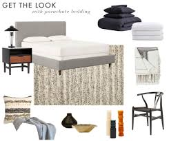 master bedroom refresh parachute home emily henderson emily henderson parachute bedding scott horne bedroom masculine monochromatic neutral soft get the look