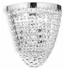 Настенный <b>светильник IDEAL LUX Pearl</b> AP2, 80 Вт — купить по ...