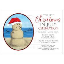 in party invitations sand snowman christmas in party invitations sand snowman