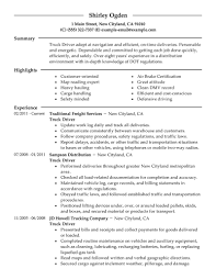 cdl truck driver resumes template cdl truck driver resumes