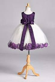 Details about Fall <b>Wedding</b> Rose Petal Birthday Flower <b>Girl Dress</b> ...