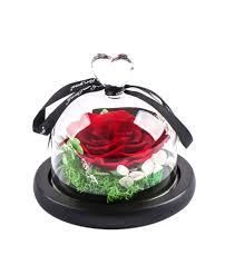 Ymachray Preserved Flower Rose -<b>Eternal Rose</b> with Gift <b>Box</b> ...