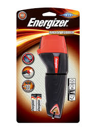 <b>Energizer Impact</b> Rubber 2AA LED Torch - For work Russian