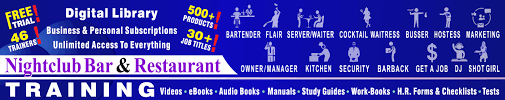 how to get a bar job now nightclub bar and restaurant training get all of scott s books videos