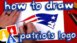 How To Draw The Patriots Logo - YouTube