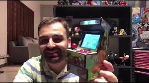 Unboxing DATA FROG Retro <b>Mini Arcade Handheld Game</b> Console ...