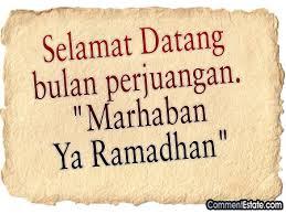 Ramadhan di perantauan