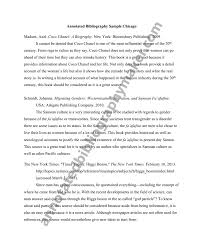 Apa Annotated Bibliography Sample        Cover Letter Templates FAMU Online