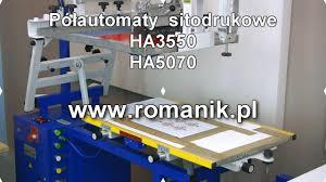 Półautomat <b>HA3550</b> i HA5070 - YouTube