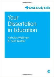 Your Dissertation in Education  Sage Study Skills Series  Amazon UK