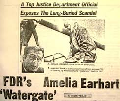 amelia earhart amelia earhart the truth at last this is the jan 3 1978 midnight globe story on jim golden s