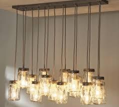 exeter 16 jar chandelier austin mason jar pendant lamp