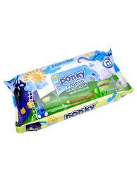 <b>Влажные салфетки</b>, 70 шт <b>PONKY</b> 6679617 в интернет-магазине ...