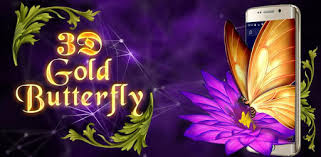 <b>Gold</b> Butterfly <b>3D</b> Theme - Apps on Google Play