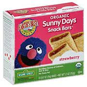 Earth's Best <b>Organic Sunny Days</b> Strawberry <b>Snack</b> Bars ‑ Shop ...