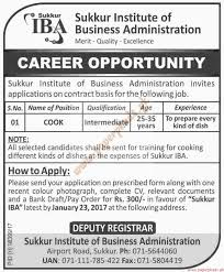 sukkur institute of business administration jobs paperpk sukkur institute of business administration jobs