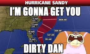 spongebob Nickelodeon hurricane weather sandy SquarePants sandy ... via Relatably.com