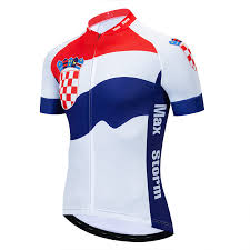<b>2019 New</b> Team Croatia <b>Cycling Jersey</b> Customized Road Mountain ...