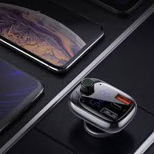 Cell phone USB charger | <b>Baseus</b> Bluetooth 5.0 FM Transmitter Car ...