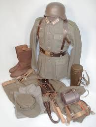 Снаряжение солдат Вермахта