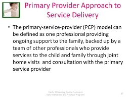 Image result for primary service provider model