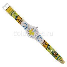 <b>Часы</b> наручные подростковые <b>Yellow Flower</b> (Желтый цветок)