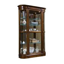 crafted with the generous proportions and graceful lines of traditional furniture this curio will give antique pulaski apothecary style