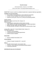 resume cover lette entry level medical office assistant resume medical assistant resume samples ziptogreen com medical assistant resume template entry level medical office assistant