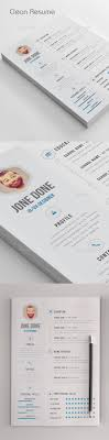 clean cv resume creative creative resume and inspiration
