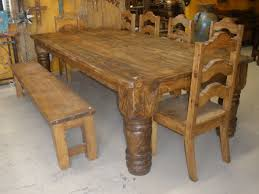 Rustic Wood Dining Room Table 1000 Ideas About Rustic Mexican Furniture On Pinterest Mexican