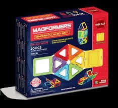 <b>Магнитный конструктор Magformers 715001</b> Window Plus Set 20 ...