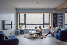 a colorful modern apartment for a family with small children child friendly furniture